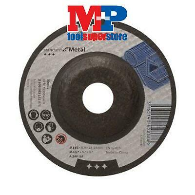 Bosch 2608603181 Angle Grinder Metal Grinding Disc Depressed Centre 115Mm **pack