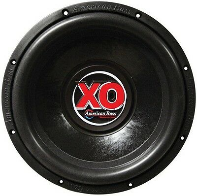 "American Bass XO1244 12"" Wooofer 600W Max 4 Ohm DVC"