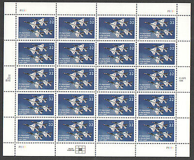 SG 3362 USA US Department of the Airforce 1947-1997 Mini Sheet unmounted mint