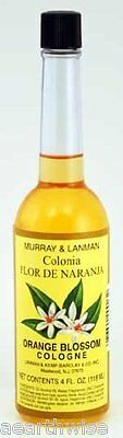 MURRAY & LANMAN ORANGE BLOSSOM COLOGNE 118 mls Wicca Witch Pagan Spell Goth