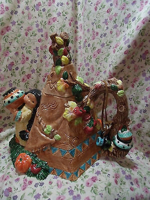 Friends Of The Feather Harvest Teapee Teapot 285722