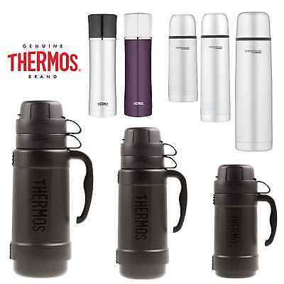THERMOS FOOD Flask & Drink FLASKS Vacuum Insulated for Soup Lunch Travel Camping