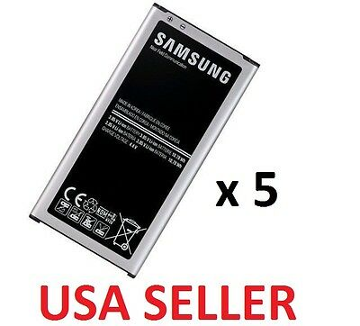 LOT 5 x New 2800mAh 3.8V Battery EB-BG900BBC for Samsung Galaxy S5 G900 i9600