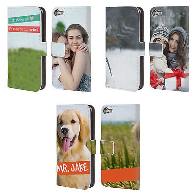 CREATE YOUR OWN CUSTOM LEATHER CASE FOR APPLE iPOD TOUCH MP3