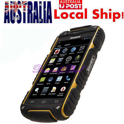 "4.0"" Discovery V8 2G/3G Smartphone Rugged Android 4.2 Waterproof Mobile Phone AU"