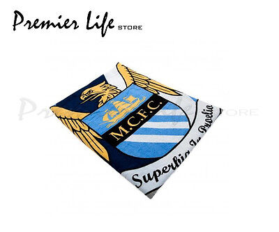 Manchester City F.C  Towel - Latest Stripe Design