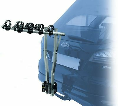 Universal Arezzo 4-Cycle Tow Bar Mounted Bike Rack - For Vehicles with Tow Bars