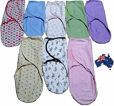 0-3 months old Baby Organic Cotton Summer SwaddleMe Blanket Wraps Sleeping Bag