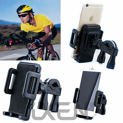 Bicycle Bike Handlebar Clip Mount Holder Stand for iPhone 6/5s/GPS Mobile Phone