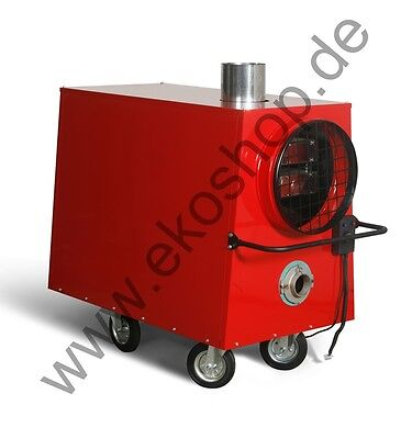 Industrial Garage Space Waste Oil  Mobile Warm Air W Heater Heating  36 o. 70KW