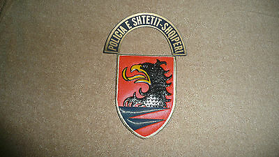 Original Albanian arm circulated  police patch. Very hard to find