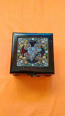 Antique beautiful wooden box
