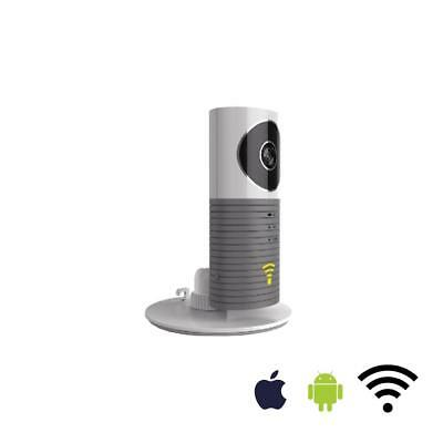Telecamera Ip Wifi Audio Sensore Micro Sd Smartphone Android Iphone Allarme Ios
