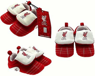 Liverpool Fc Neon Baby Football Club Boots Booties Baby Slippers Pram Shoes Lfc