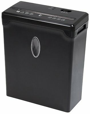 Sentinel 6 Sheet Crosscut Paper Shredder FX61B Shredder NEW