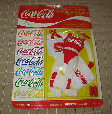 Vintage Coca Cola Barbie Doll Aerobic Fashions 11 1/2'' MB FREE SHIPPING