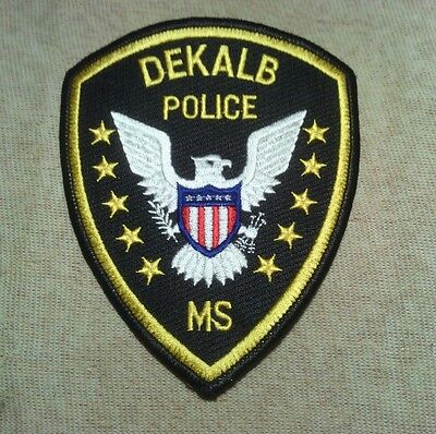MS Dekalb Mississippi Police Patch