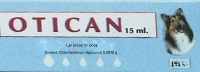 EAR Drops for Dogs  help soften and remove wax from the ear