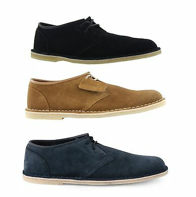 Clarks Original Jink Leather Mens Casual Lace Up Shoes