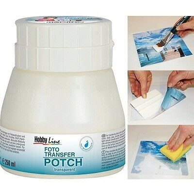 C.Kreul Fototransfer Potch Hobby Line, 250 ml, Lack, Bild, Decoupage