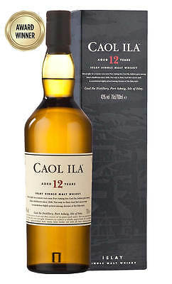 Caol Ila 12YO Single Malt Scotch Whisky 700ml(Boxed)