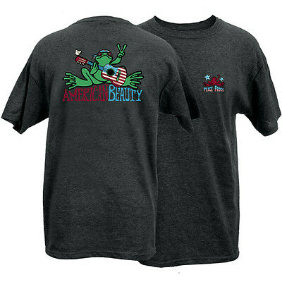 New Peace Frogs American Beauty Small  Adult T-Shirt