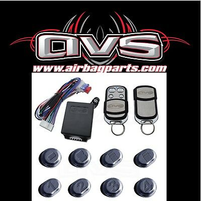Avs 4 Channel Remote System Shaved Doors, Door Locks Air Ride Free Shipping