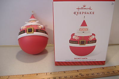 ~Secret Santa~2014 Hallmark Ornament~Hide Something Special Inside~