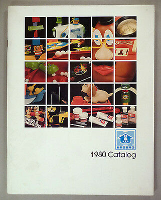 Hasbro Toy CATALOG - 1980 ~~ toys ~~ nice condition
