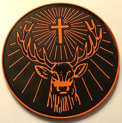 Jagermeister Coaster - Solid Rubber - Deer Head Logo...Cool...NEW