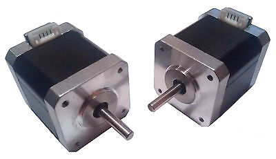 3D Printer High Precision NEMA17 Stepper Motors - 0.9 deg - 5mm Shaft - Reprap