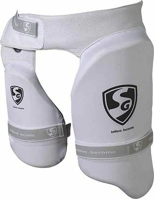 Sg Ultimate Combo Cricket Thigh & Inner Thigh  Pad Left Hand Batsman  Men Size