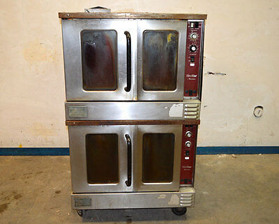 SouthBend SilverStar 1/2-Hp Dual Convection Gas Oven South-Bend Stack
