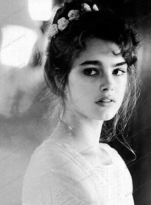 8x10 Print Brooke Shields 1980's #BS62