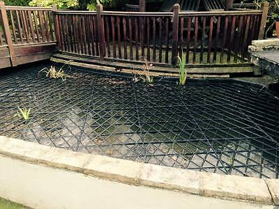 Fish Pond Floating Protection Grids Protects Fish From Herons & Is Pond Friendly