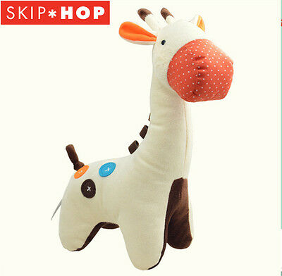 Skip Hop Giraffe Safari Baby Plush Toy- Comfort Soothing Plush baby toy bed bell
