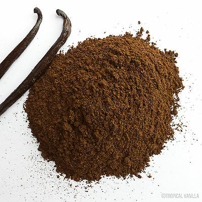 Organic Vanilla Beans Powder Ground 25g  MADAGASCAR + Free Shipping