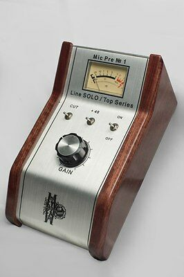 Handcrafted microphone preamp Mic Pre №1 by Rupert Neve scheme of Amek 2500