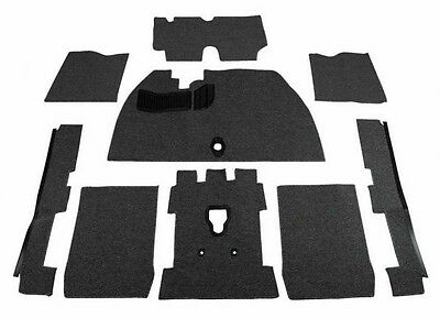 1968-77 VW Bug Trunk Carpet Kit w// Out Spare Tire Cover 1 pc Salt /& Pepper Loop