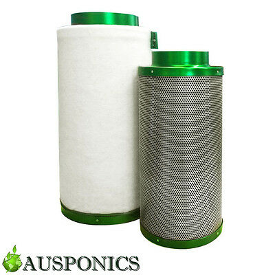 4 INCH FILTAROO CARBON FILTER For Hydroponics Air Activated Odor Control System