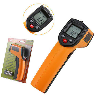 Digital LCD Non-Contact Infrared Thermometer Laser IR Temperature -50 to 380℃