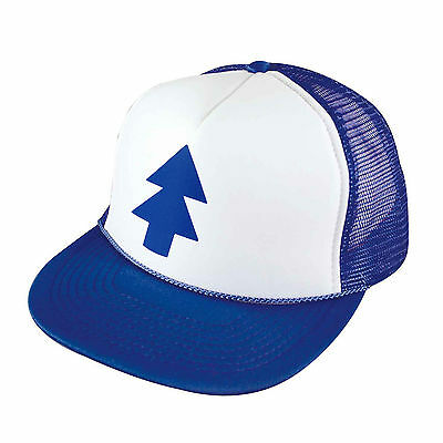 Gravity Falls DIPPER HAT Adjustable Mesh Trucker Cap Funny Awesome Kids Adults
