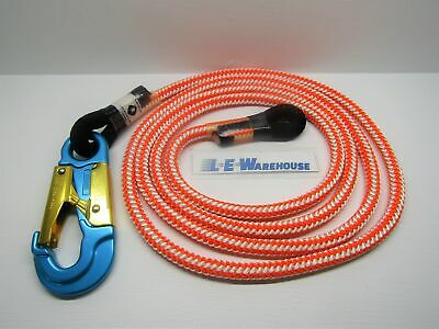 "Arborist Climbing Climb Right 1/2"" X 10Ft Rope Flip Line Lanyard Part # 75712"
