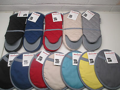 KitchenAid silicone pot holder or oven mitt choice of color