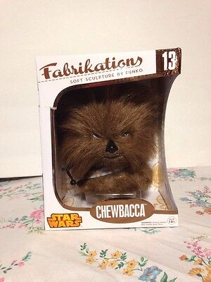 Chewbacca #13 Star Wars Fabrikations Soft Sculpture Plush Brand New