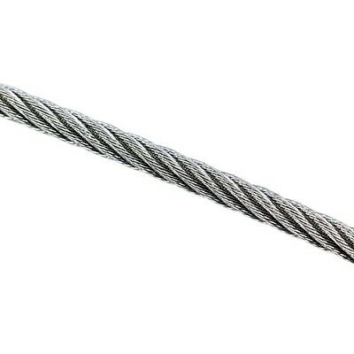 Wire Rope 4mm 7x19 AISI 316 Per Metre