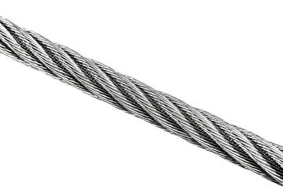 Wire Rope 10mm 7x19 AISI 316 Per Metre