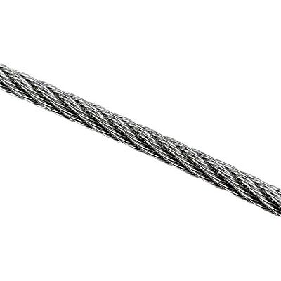 Wire Rope 3.2mm 7x7 AISI 316 305 Metre Roll