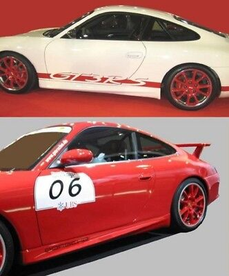 Seitenschweller / side skirts GT3-RS-Look Porsche 996 (PP 25629)