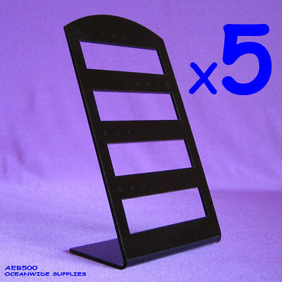 BEST SELLING 5X Earring Holder Display Stand-Black Acrylic | AUSSIE Seller